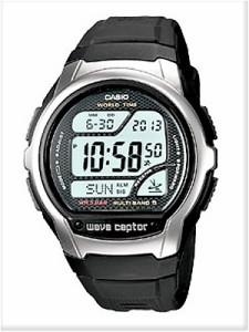CASIO カシオ 腕時計 WV-58J-1AJF wave ceptor ウェーブ・セプター 電波時計