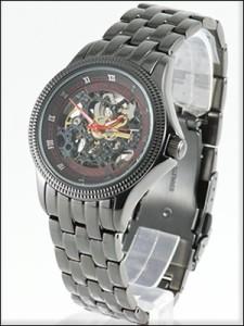 KEITH VALLER 腕時計 キースバリー 時計 BS011-BRD メンズ 限定モデル 日本未発売 スケルトン