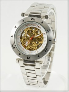 KEITH VALLER 腕時計 キースバリー 時計 KFS-GL メンズ 自動巻き 手巻き