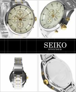 海外SEIKO 海外セイコー 腕時計 SKS541P1 メンズ クロノグラフ