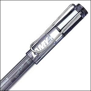 LAMY ラミー 筆記具L312 safari サファリ 限定モデル スケルトン ローラーボール