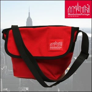 MANHATTAN PORTAGE マンハッタンポーテージ MP1603-RED メッセンジャーバッグ Casual Messenger XS RED カジュアル MP1603 RED