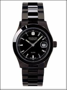 SWISS MILITARY 腕時計 スイスミリタリー 時計 ML132ペアウォッチ メンズ ELEGANT BLACK エレガントブラック