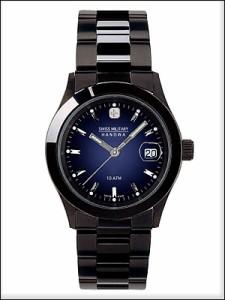 SWISS MILITARY 腕時計 スイスミリタリー 時計 ML186ペアウォッチ メンズ ELEGANT BLACK エレガントブラック