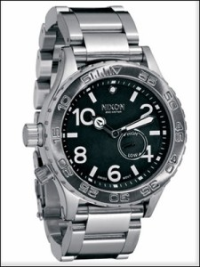 NIXON ニクソン 腕時計 A035-000 メンズ THE 42-20 ダイバーズウォッチ