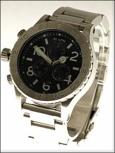 NIXON 腕時計 ニクソン 時計 A037-000 メンズ THE 42-20 クロノグラフ ダイバーズウォッチ