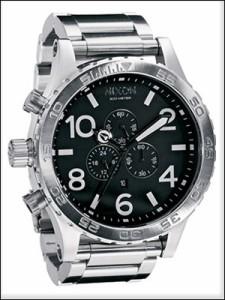 NIXON 腕時計 ニクソン 時計 A083-000 メンズ 51-30 フィフティーワンサーティー クロノグラフ ダイバーズウォッチ