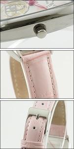 Alessandra Olla 腕時計 アレッサンドラオーラ 時計 AO-4850-PKLadys レディース 桜柄