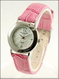 Alessandra Olla 腕時計 アレッサンドラオーラ 時計 AO-6900-RPKLadys レディース 天然ダイヤモンド