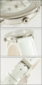 Alessandra Olla 腕時計 アレッサンドラオーラ 時計 AO-6900-WHLadys レディース 天然ダイヤモンド