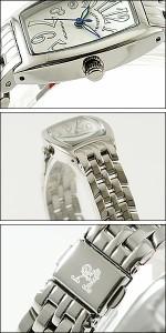 Alessandra Olla 腕時計 アレッサンドラオーラ 時計 AO-982SVLadys レディース トノー型 レディース