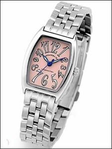 Alessandra Olla 腕時計 アレッサンドラオーラ 時計 AO-988PKLadys レディース トノー型 レディース