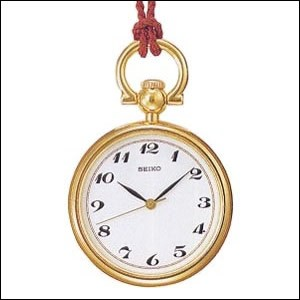 SEIKO セイコー クロック SWPQ002 ユニセックス ポケットウォッチ 懐中時計