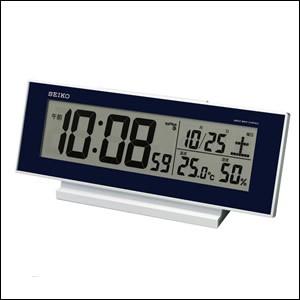SEIKO セイコー クロック SQ762L 電波置時計