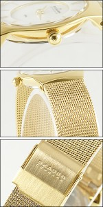 SKAGEN 腕時計 スカーゲン 時計 233XSGG レディース メッシュゴールド 人気