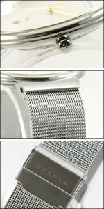 SKAGEN 腕時計 スカーゲン 時計 355LGSC メンズ ステンレス シルバー×ゴールド 人気