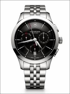VICTORINOX SWISS ARMY ビクトリノックス スイスアーミー 腕時計 241745 メンズ ALLIANCE CHRONOGRAPH アライアンスクロノグラフ ブラッ