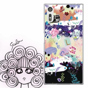 AQUOS PHONE Xx 302SH専用 ケース 50051 ScoLar スカラー ディスコ スカル かわいい ファッションブランド デザイン スマホカバー アンド