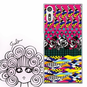 AQUOS PHONE Xx 302SH専用 ケース 50101 ScoLar スカラー バラ 星 さくらんぼ パターン柄 かわいい ファッションブランド デザイン スマ