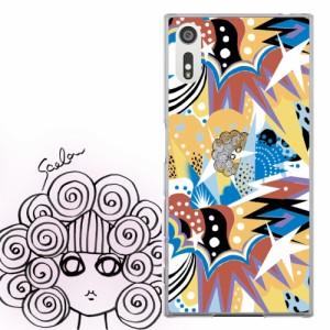 AQUOS PHONE Xx 302SH専用 ケース 50107 ScoLar スカラー スカラー アート オレンジポップ かわいい ファッションブランド デザイン スマ