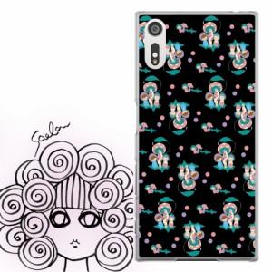 AQUOS PHONE Xx 302SH専用 ケース 50276 ScoLar スカラー きのこと子供 総柄 かわいいデザイン ファッションブランド デザイン スマホカ