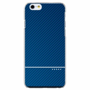 iPhone6S Plus機種専用 スマホケース ARCデザイン 30020 カーボン調 ブルー メンズ スマホカバー iPhone iPod