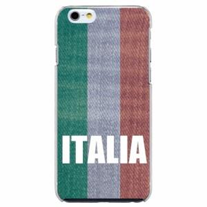 iPhone5機種専用 スマホケース ARCデザイン 30044 イタリア 国旗 レトロ調 かわいい スマホカバー iPhone iPod
