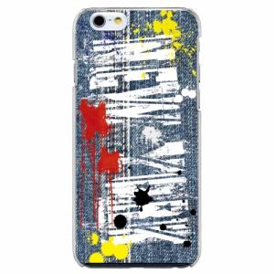 ARCオリジナル デザイン apple機種専用 スマホケース 30091 スマホカバー iPhone iPod デニム ペンキ ニューヨーク