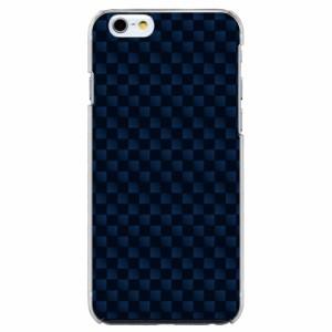iPhone6 Plus機種専用 スマホケース ARCデザイン 30188 チェッカー ブルー かわいい スマホカバー iPhone iPod