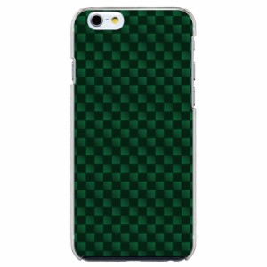 iPhone6 Plus機種専用 スマホケース ARCデザイン 30189 チェッカー グリーン かわいい スマホカバー iPhone iPod