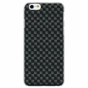 iPhone6 Plus機種専用 スマホケース ARCデザイン 30190 チェッカー グレー かわいい スマホカバー iPhone iPod