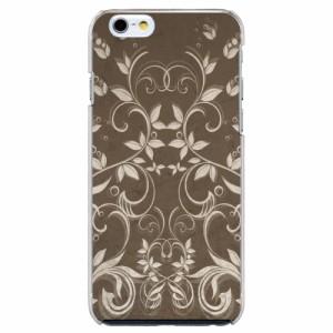 iPhone6 Plus機種専用 スマホケース ARCデザイン 30194 リーフ柄 かわいい スマホカバー iPhone iPod