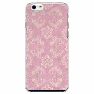 iPhone6 Plus機種専用 スマホケース ARCデザイン 30197 ダマスク柄 ピンク かわいい スマホカバー iPhone iPod