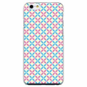 iPhone6 Plus機種専用 スマホケース ARCデザイン 30211 ファンシー 七宝文様 かわいい スマホカバー iPhone iPod