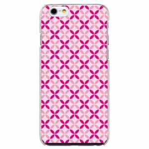 iPhone6 Plus機種専用 スマホケース ARCデザイン 30216 ファンシー 七宝文様 かわいい スマホカバー iPhone iPod