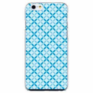 iPhone6 Plus機種専用 スマホケース ARCデザイン 30217 ファンシー 七宝文様 かわいい スマホカバー iPhone iPod