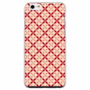 iPhone6 Plus機種専用 スマホケース ARCデザイン 30219 ファンシー 七宝文様 かわいい スマホカバー iPhone iPod