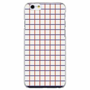 iPhone6 Plus機種専用 スマホケース ARCデザイン 30221 チェック柄 シンプル かわいい スマホカバー iPhone iPod