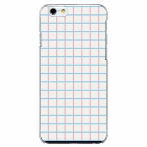 iPhone6 Plus機種専用 スマホケース ARCデザイン 30222 チェック柄 シンプル かわいい スマホカバー iPhone iPod