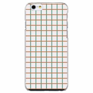 iPhone6 Plus機種専用 スマホケース ARCデザイン 30224 チェック柄 シンプル かわいい スマホカバー iPhone iPod