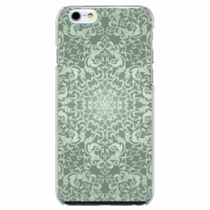 iPhone6 Plus機種専用 スマホケース ARCデザイン 30232 ダマスク柄 かわいい スマホカバー iPhone iPod