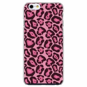 iPhone6 Plus機種専用 スマホケース ARCデザイン 30241 ヒョウ柄 アニマル ピンク かわいい スマホカバー iPhone iPod