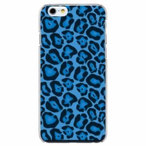 iPhone6 Plus機種専用 スマホケース ARCデザイン 30243 ヒョウ柄 アニマル ブルー かわいい スマホカバー iPhone iPod