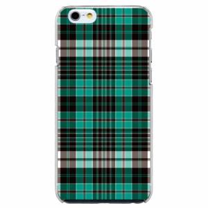 iPhone6 Plus機種専用 スマホケース ARCデザイン 30247 チェック柄 グリーン かわいい スマホカバー iPhone iPod