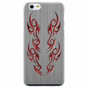 iPhone6 Plus機種専用 スマホケース ARCデザイン 30261 バイナル レッド メンズ スマホカバー iPhone iPod