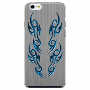 iPhone6 Plus機種専用 スマホケース ARCデザイン 30262 バイナル ブルー メンズ スマホカバー iPhone iPod