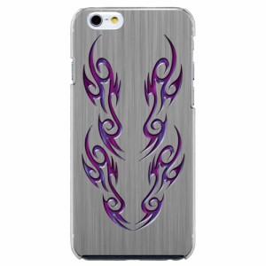 iPhone6 Plus機種専用 スマホケース ARCデザイン 30265 バイナル パープル メンズ スマホカバー iPhone iPod