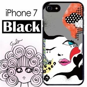 3c9bd0dd8d スカラー/50022/スマホケース/スマホカバー/iPhone7/ブラックタイプ/アイフォン/グラフティ