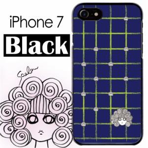 54b3911b56 スカラー/50433/スマホケース/スマホカバー/iPhone7/ブラックタイプ/アイフォン/ギザギザ