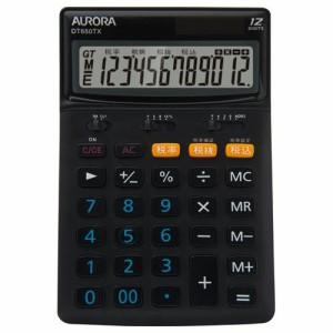 AURORA 中型電卓 12桁 卓上タイプ 1台